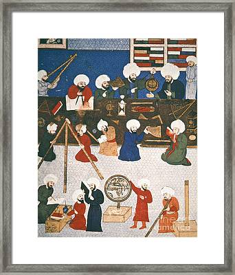 Turkish Astronomers Framed Print by Granger