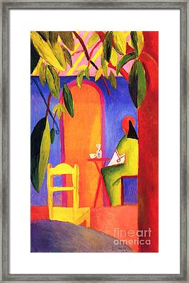 Turkish Cafe II Framed Print by Pg Reproductions