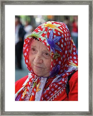 Turkish Day Parade 5 28 11 10 Framed Print by Robert Ullmann