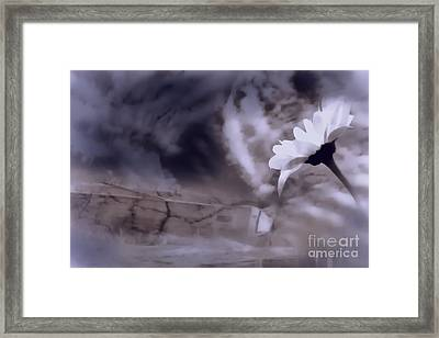 Turn Around There Is Hope Framed Print by Cathy  Beharriell