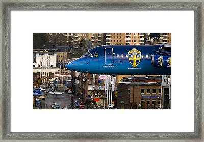 Turn Right At The Next Lights Framed Print by Karl-axel Lindbergh