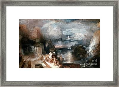 Turner: Hero & Leander Framed Print by Granger