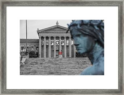 Turning Away From Amor Framed Print by Bill Cannon