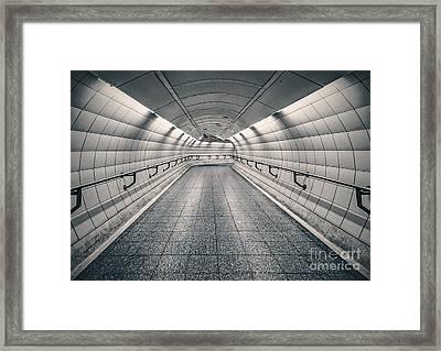 Turning Point Framed Print by Evelina Kremsdorf