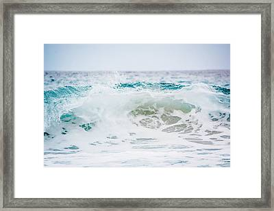 Turquoise Beauty Framed Print by Shelby Young