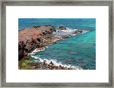 Turquoise Framed Print by Kelley King