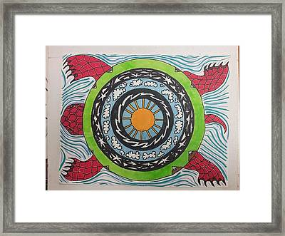 Turrtle Framed Print by William Douglas
