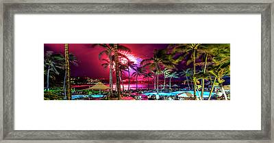 Turtle Bay - Independence Day Framed Print by Sean Davey