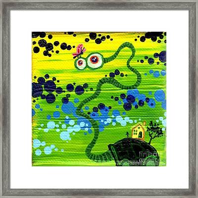 Turtle Guy Framed Print by Dan Keough