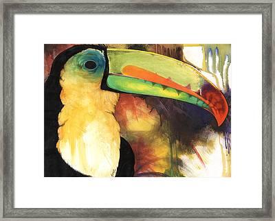 Tusanii Framed Print by Anthony Burks Sr