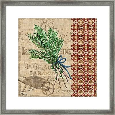 Tuscan Herbs II Framed Print by Paul Brent