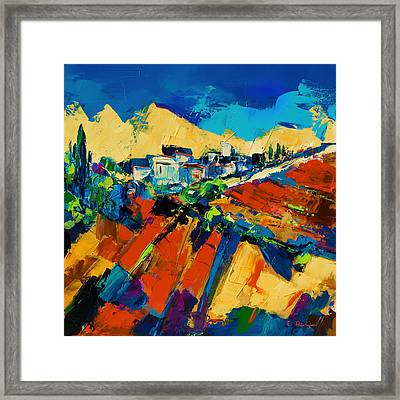 Tuscan Light Framed Print by Elise Palmigiani