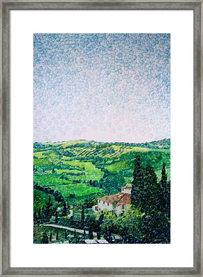 Tuscan View Framed Print by Jason Charles Allen