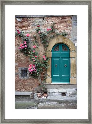 Tuscany Entrance Cortona Framed Print by Al Hurley