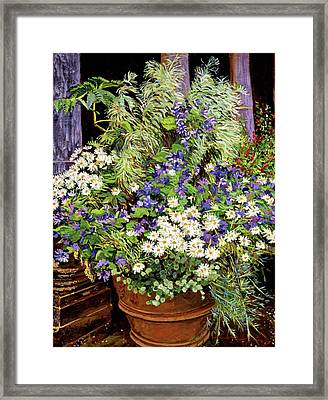 Tuscany Still Life Study Framed Print by David Lloyd Glover