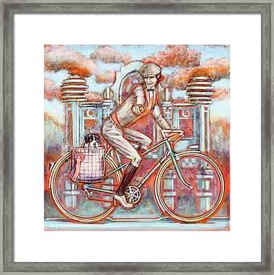 Tweed Runner And Major Nichols Framed Print by Mark Howard Jones