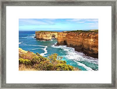 Twelve Apostles Great Ocean Road Framed Print by Bill  Robinson