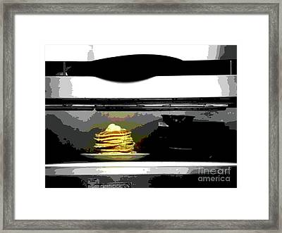 Twelve Dollar Plate Framed Print by Joe Jake Pratt