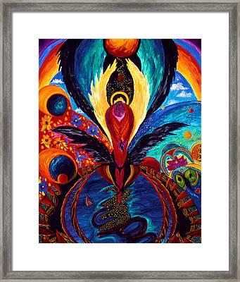Captive Angel Framed Print by Marina Petro