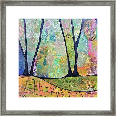 Twilight I Framed Print by Shadia Derbyshire
