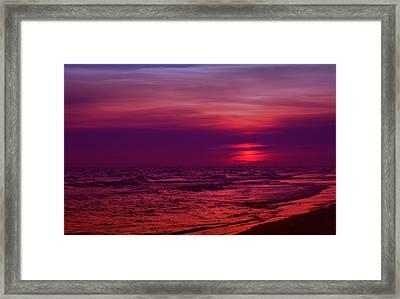 Twilight Framed Print by Sandy Keeton