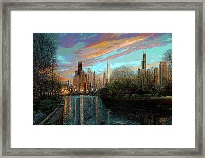 Twilight Serenity II Framed Print by Doug Kreuger