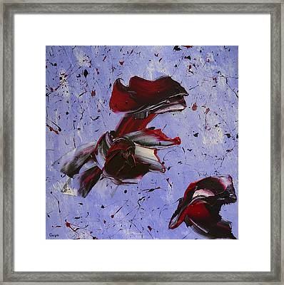 Twilight Visions With A Piano Framed Print by Gayane Karapetyan