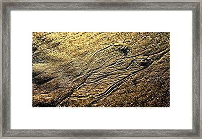 Twin Lava Flows Framed Print by Charles Shedd