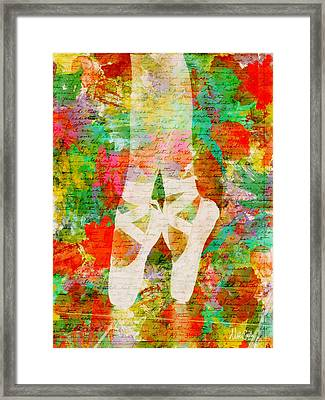 Twinkle Toes Framed Print by Nikki Marie Smith