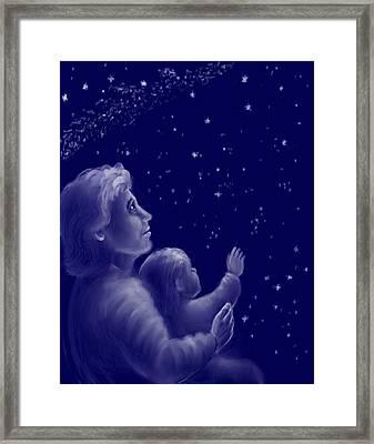 Twinkle Twinkle Little Star Framed Print by Dawn Senior-Trask