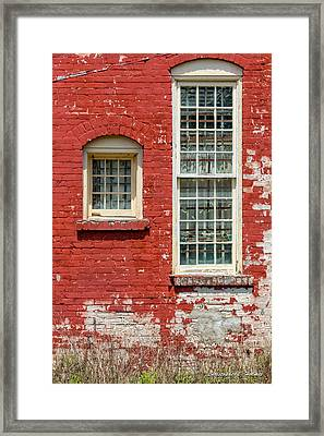 Twins Framed Print by Christopher Holmes