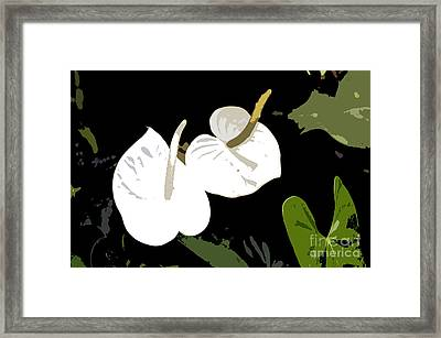 Twins Work Number 10 Framed Print by David Lee Thompson