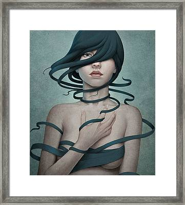 Twisted Framed Print by Diego Fernandez