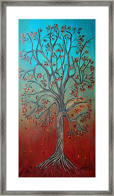 Twisted Framed Print by Maggie Ullmann