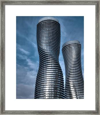 Twisted Framed Print by Rob Andrus
