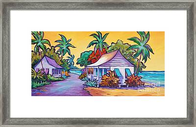 Two Cottages Framed Print by John Clark