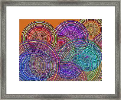 Two Families Join In Circles Of Harmony 1 Framed Print by Tony Rubino