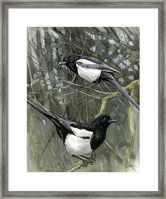Two For Joy Framed Print by Chris Pendleton