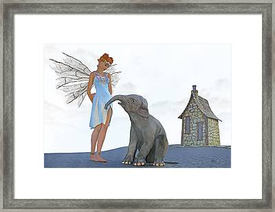Two Friends Framed Print by Betsy Knapp