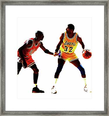 Two Masters At Work Framed Print by Brian Reaves