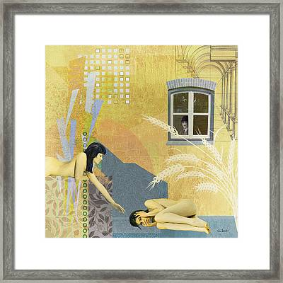 Two Minds Framed Print by Van Renselar