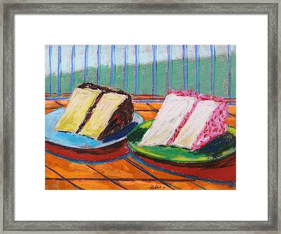 Two Slices Framed Print by John Williams