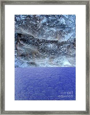 Two States Framed Print by Ron Bissett