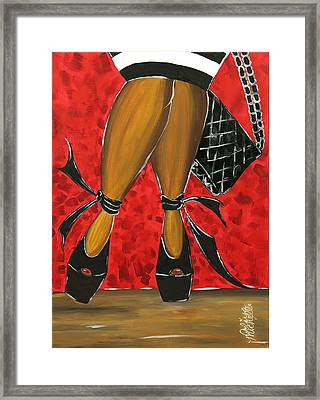 Two Stepping Framed Print by Aliya Michelle