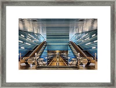 U 4 Framed Print by Martin Fleckenstein