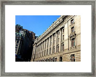 U S Custom House 1 Framed Print by Randall Weidner