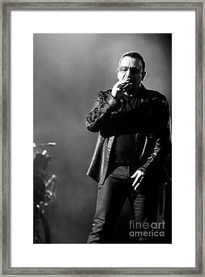 U2 By Jenny Potter Framed Print by Jenny Potter