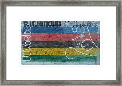 Uci Banner Framed Print by TK Harris