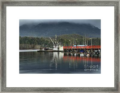 Ucluelet Challenger Framed Print by Adam Jewell
