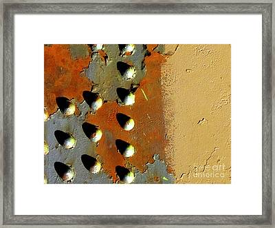 Udderly Distressed Framed Print by Laura Star